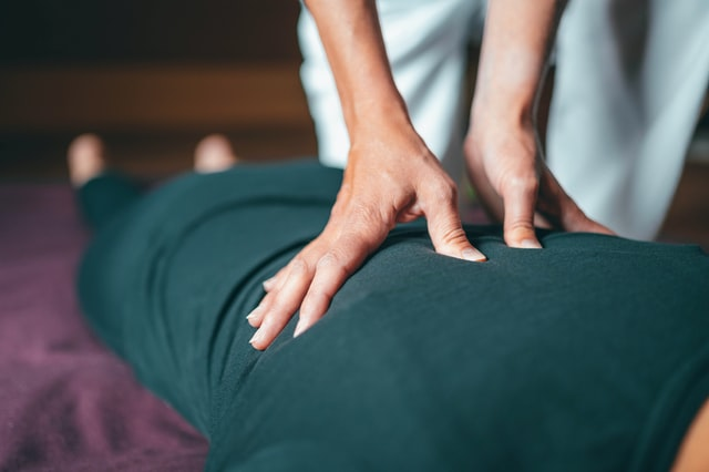 Thai Massage Druckpunktmassage